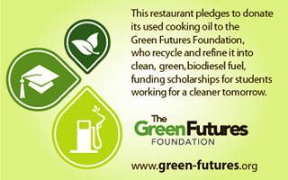 Green Futures Recycles Waste Oil to Biodiesel
